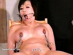 Asian needle bdsm of rounded japanese Tigerr Juggs