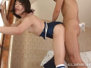 asian schoolgirl remarkable banged