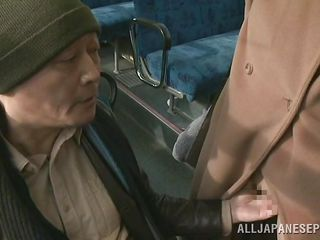 japanese doxy purchases fingered on the bus