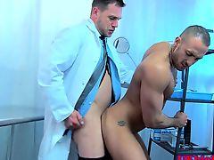 Englishman doctor anally fucking ass