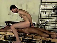 Gay schlongs The final insult of another guys semen dumped on hi