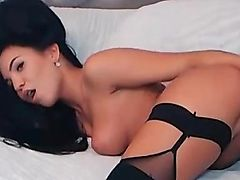 HOT Latin chico Babe Toys her Ass