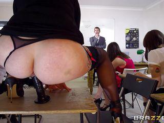 redhead student seduces her teacher