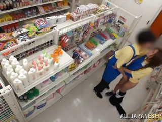 japanese babe obtains fucked in the store