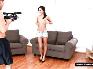 a porn casting for fucking star wannabe missy nicole
