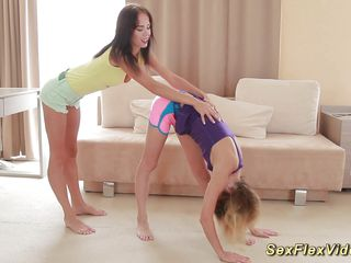 cute flexible girlfriends bare expand