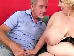Huge Typical Boobed lass is drilled