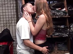 Cute young teen is paid to get nailed