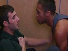 sweaty 3some fucking in the elevator
