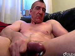 Pierced Straight Marc Jerking Off His Jock