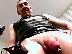 Mature Straight Guy Marc Masturbating